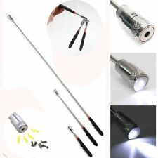 "Telescopic Magnet with LED Torch Light 27"" Telescopic Magnetic Pick Up Tool"