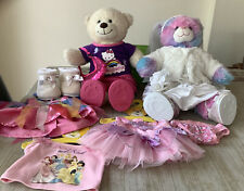 build a bear clothes bundle: Wedding Dress, Hello Kitty, Disney Princess Shoes