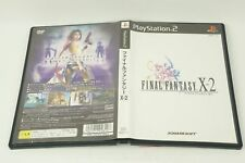 Final Fantasy X-2 PS2 Square Sony Playstation 2 From Japan