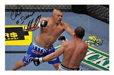 CHUCK LIDDELL AUTOGRAPHED SIGNED A4 PP POSTER PHOTO