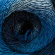 Rico poemas 4 capas Sock Knitting Yarn Denim sombra 4 - 100g