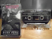 RARE PROMO Body Count CASSETTE TAPE Born Dead metal ICE-T Jimi Hendrix HEY JOE !