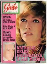 Revista Garbo Nº 928 - 16-12-1970 - Hussein, Julio Nuñez, Onassis y Jackie