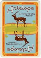 Playing Cards Single Card Old Old Wide ANTELOPE Bakers BAKERY Advertising Art 3