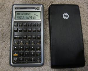 WP 31s RPN calculator