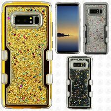 Samsung Galaxy Note 8 Quicksand TUFF HYBRID Protector Skin Cover + Screen Guard