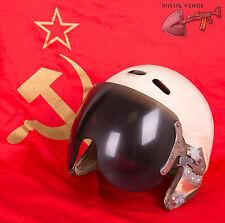 Original Soviet Russian pilot helmet ZSH-3M size 1 USSR air force mig aviator