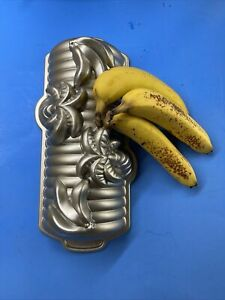 Nordic Ware Banana Bread Palm Tree 3D Loaf Cake Pan USA 6 Cups / 1.4 Liters