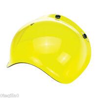 Visiere bulle jaune BILTWELL BUBBLE VISOR YELLOW HELMET casque moto Bandit DMD