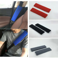2PC Soft Car Seat Belt Pads Safety Shoulder Strap Covers Harness Cushion Fashion
