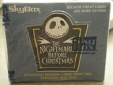 1993 Skybox The Nightmare Before Christmas Trading Card Unopened Box 36 Packs