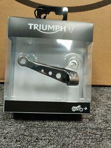 Genuine Triumph A9610302 - Clutch Cable Guide - Gunmetal
