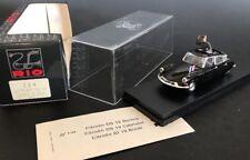 "Rio Models #114 CITROEN DS 19 ""General De Gaulle"" 1962 With Original Box"