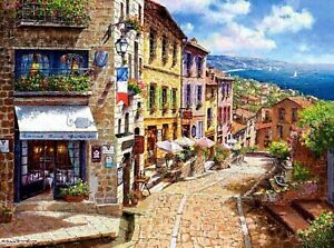 New 3000 Pieces pcs pc Puzzle jigsaw Castorland Afternoon in Nice  C-300471