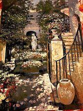 Behrens Villa Floral garden Tapestry