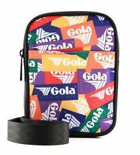 Gola Goodman Relay Umhängetasche Tasche Multi Rot Orange Neu