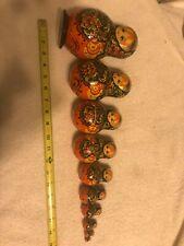 Set of Ten Russian Nesting Dolls