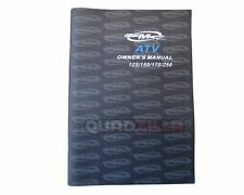 Genuine Quadzilla SMC ATV Owner's Manual 125/150/170/250 Paper Book