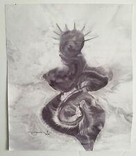 Jose Tonito Original Handmade painting on real CANVAS.Organic art.Modulation
