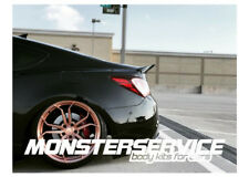 """Spoiler ducktail """"Monsterservice""""  for Hyundai Genesis Coupe"""