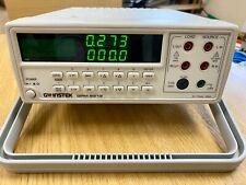 GW INSTEK GPM-8212  AC POWER METER