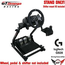 GT Omega STEERING WHEEL STAND PRO pour Logitech G920 Racing Wheel & Shifter V2