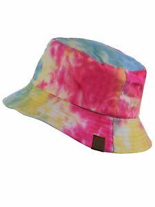 C.C Unisex 100% Cotton Packable Reversible Bucket Sun Hat