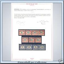 Somalia Selllado n. 41/51 Cert. Raybaudi PROPUESTA