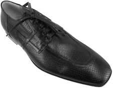 $650.00 CESARE PACIOTTI PERFORATED LEATHER OXFORDS ITALIAN MENS SHOES US 7