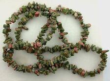 Unakite Chip Bead 36 Inch Strand Natural Gem Stone Gemstone