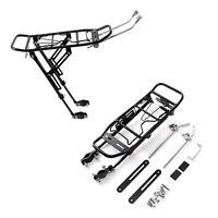 Heavy Duty Alloy Rear Bicycle Pannier Bag/Luggage Rack Bike/Cycle 25KG w/ Flap