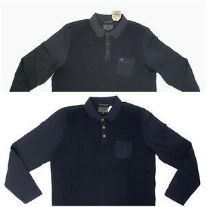 Camel Active Polo Shirt Langarm Longsleeve S M L XL XXL Poloshirt Casual Herren