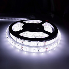 5M LED Strip light 5630 12V Waterproof White Kitchen Cabinet Cupboard Lamp