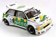 """Kit pour miniature auto CCC : Citroën AX 4X4 """"YACCO"""" 1992 référence 150"""