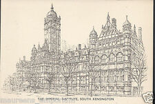 London Postcard - The Imperial Institute, South Kensington   RS683