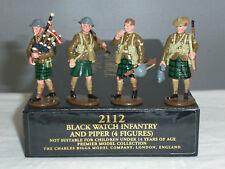 CHARLES BIGGS 2112 WORLD WAR ONE BLACKWATCH INFANTRY + PIPER TOY SOLDIER SET