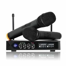Leshp S9-uhf Professional Wireless LCD Microphone System With 2 Handheld for