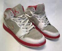 Nike Retro Air Jordan 1 Phat Kids 454659-002 Size 6Y Scarlet Red Silver Reflect