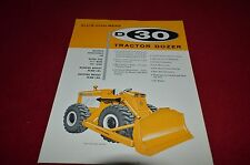 Allis Chalmers D30 Rubber Tired Dozers Dealers Brochure YABE11 VER91