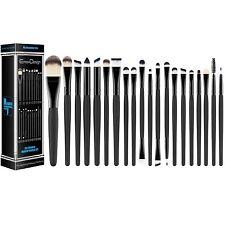 Set di 20 pennelli pennelli professionali per trucco, volto ombretti, Eyeliner…