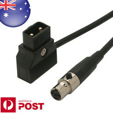 "D-Tap Male to (Tinny) MINI XLR 4 Pin Cable for VFM 5.6"" Monitor etc 0.6M - Z353"