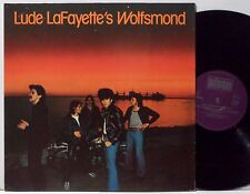 LUDE LAFAYETTE'S WOLFSMOND s/t LP 1977 Bellaphon Germany orig EX+