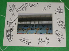 Coventry City Fc montaje multi-signed X Once 2015/16 primer equipo Squad