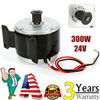 300W 24V electric motor w base MY1016 2750RPM Brushed Motor For E Bike scooter