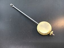 "French Clock Pendulum Adjustable Universal  2.5 oz. Brass Bob 1 3/8"" Diameter"