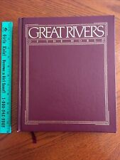 GREAT RIVERS OF THE WORLD DELUXE LEATHER BOUND NATIONAL GEOGRAPHIC SOCIETY