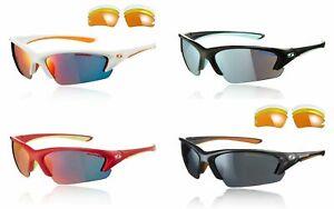 Sunwise equinox Interchangeable + free zip case Cycling running Tri sunglasses
