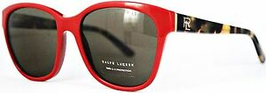 Ralph Lauren Damen Sonnenbrille RL8143 5599/73 55mm rot. #364 (44)