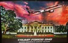 Original Donald TRUMP Boeing 757-200 The White House 36 x 24 Poster NEW!