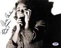 VERA MILES SIGNED AUTOGRAPHED 8x10 PHOTO + LILA CRANE PSYCHO I VERY RARE PSA/DNA